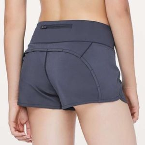 Lululemon Run Time Shorts Cadet Blue